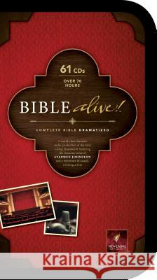 Bible Alive!-NLT - audiobook Stephen Johnston 9781414371306