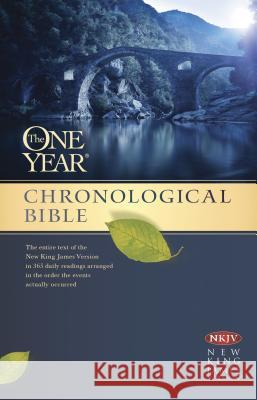 One Year Chronological Bible-NKJV Tyndale 9781414376561