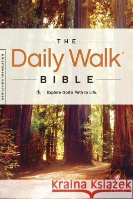 Daily Walk Bible-NLT: Explore God's Path to Life   9781414380612