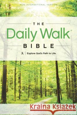 Daily Walk Bible-NIV: Explore God's Path to Life   9781414380629