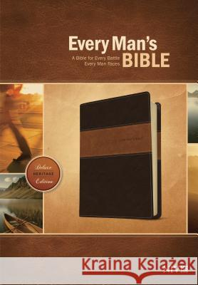 Every Man's Bible-NIV-Deluxe Heritage  9781414381107