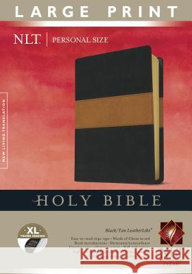 Personal Size Large Print Bible-NLT  9781414387666