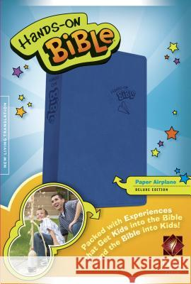 Hands-On Bible-NLT-Paper Airplane  9781414398532