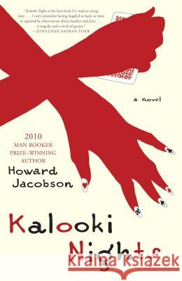 Kalooki Nights Howard Jacobson 9781416543435