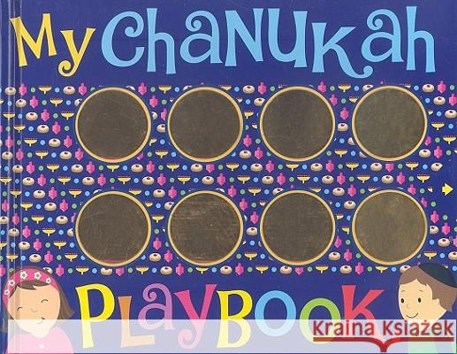 My Chanukah Playbook Salina Yoon Salina Yoon 9781416989578