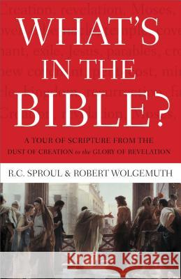 What's in the Bible: A Tour of Scripture from the Dust of Creation to the Glory of Revelation R. C., Jr. Sproul Robert Wolgemuth 9781418545987