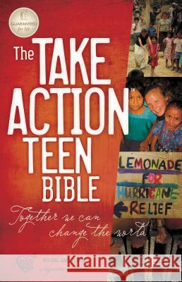 Take Action Teen Bible-NKJV Thomas Nelson Publishers 9781418549053