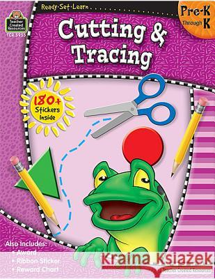 Ready-Set-Learn: Cutting & Tracing Prek-K Teacher Created Resources                Teacher Created Resources 9781420659559 Teacher Created Materials