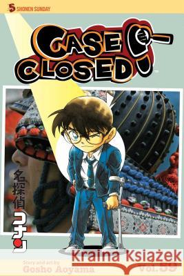 Case Closed, Volume 59: Hair Today, Gone Tomorrow Gosho Aoyama 9781421583853