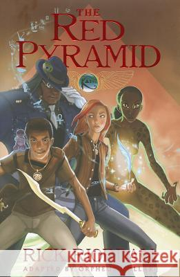 The Kane Chronicles - Book One Red Pyramid: The Graphic Novel  9781423150688