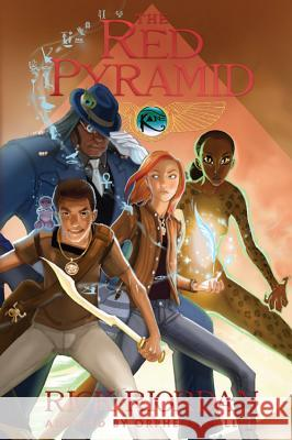 The Kane Chronicles, Book One the Red Pyramid: The Graphic Novel  9781423150695