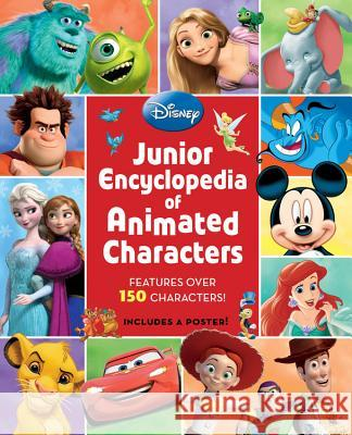 Junior Encyclopedia of Animated Characters Disney Book Group 9781423189145