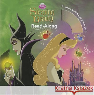 Sleeping Beauty Read-Along [With CD (Audio)] Disney Book Group 9781423198949