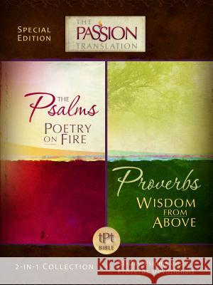Psalms Poetry on Fire and Proverbs Wisdom from Above: 2-In-1 Collection with 31 Day Psalms & Proverbs Devotionals Simmons Brian 9781424550173