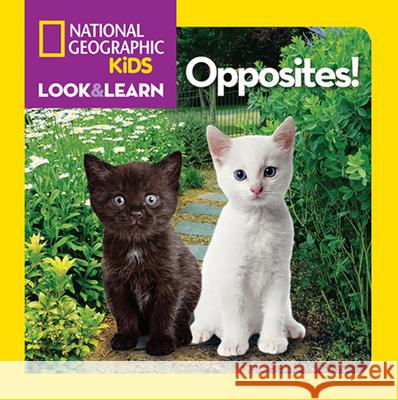 National Geographic Kids Look and Learn: Opposites! National Geographic Kids 9781426310430