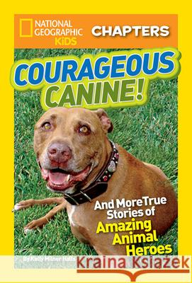 Courageous Canine!: And More True Stories of Amazing Animal Heroes Kelly Milner Halls 9781426313967