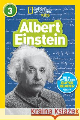 National Geographic Kids Readers: Albert Einstein Libby Romero 9781426325366
