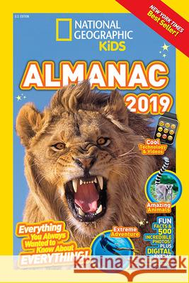 National Geographic Kids Almanac 2019 National Geographic Kids 9781426330148