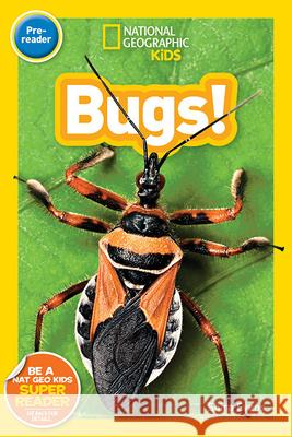 National Geographic Kids Readers: Bugs (Pre-Reader) Shira Evans 9781426330308