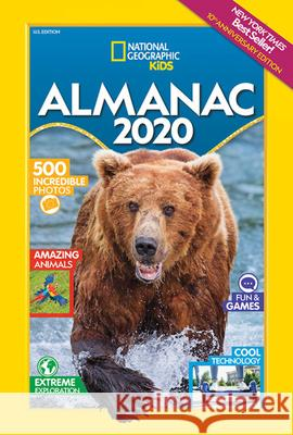 National Geographic Kids Almanac 2020 National Geographic Kids 9781426332814