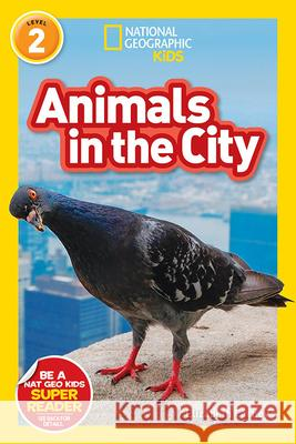 National Geographic Readers: Animals in the City (L2) Elizabeth Carney 9781426333316