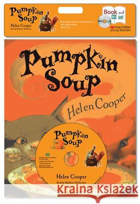 Pumpkin Soup (Book & CD Set) [With Paperback Book] - audiobook Helen Cooper 9781427207401