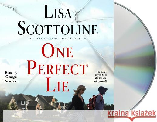 One Perfect Lie - audiobook Lisa Scottoline 9781427282095