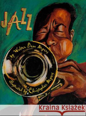 Jazz (1 Hardcover/1 CD) [With Hardcover Book] - audiobook Walter Dean Myers Christopher A. Myers 9781430100225