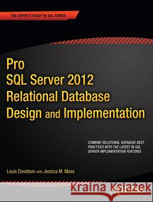Pro SQL Server 2012 Relational Database Design and Implementation Louis Davidson 9781430236955