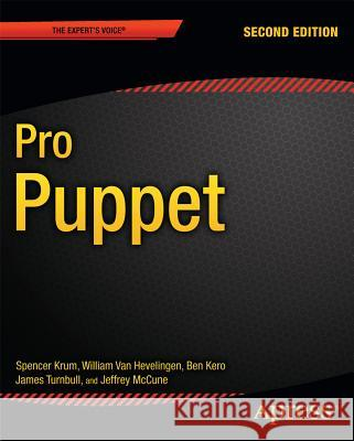 Pro Puppet Spencer Krum Ben Kero James Turnbull 9781430260400