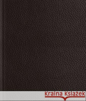 ESV Journaling Bible (Buffalo Leather Over Board, Deep Brown)  9781433570834