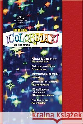 Biblia Colormax!-Rvr 1960-Pocket B&h Espanol Editorial Staff 9781433600319