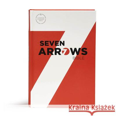 CSB Seven Arrows Bible, Hardcover: The How-To-Study Bible for Students Csb Bibles by Holman                     Matt Rogers 9781433649028