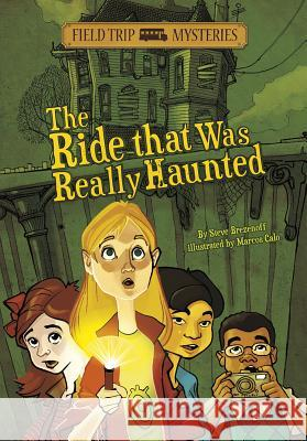The Ride That Was Really Haunted Steven Brezenoff Marcos Calo 9781434234278 Stone Arch Books