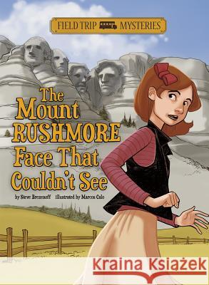 The Mount Rushmore Face That Couldn't See Steven Brezenoff Marcos Calo 9781434241993 Stone Arch Books