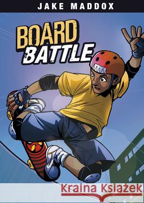 Board Battle Jake Maddox Aburtov 9781434262080