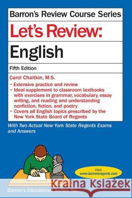 Let's Review English Carol Chaitki 9781438006260
