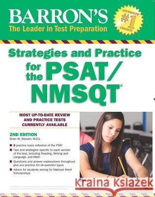 Barron's Strategies and Practice for the Psat/NMSQT Brian W. Stewar 9781438008882