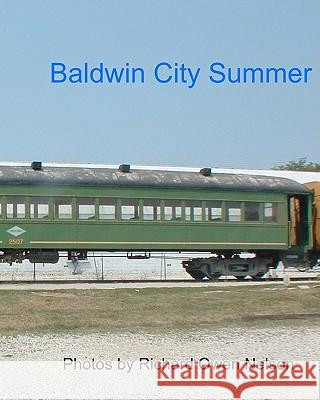 Baldwin City Summer: Trains of July, 2005 Richard Owen Nelson 9781438230047