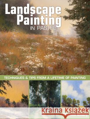 Landscape Painting in Pastel: Techniques and Tips from a Lifetime of Painting Elizabeth Mowry 9781440343100