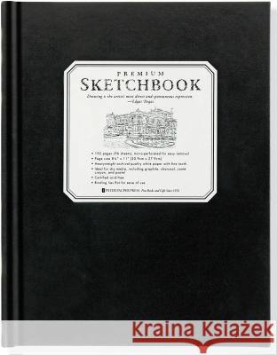 Large Premium Sketchbook Peter Pauper Press 9781441310224