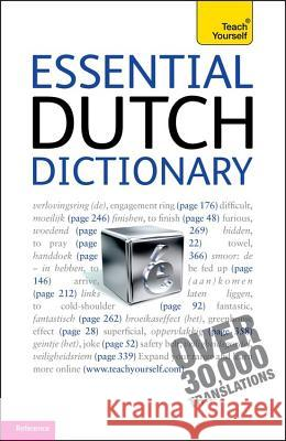 Teach Yourself Essential Dutch Dictionary Gerdi Quist 9781444103977