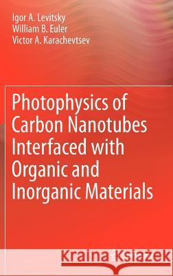 Photophysics of Carbon Nanotubes Interfaced with Organic and Inorganic Materials Igor A. Levitsky William B. Euler Victor A. Karachevtsev 9781447148258