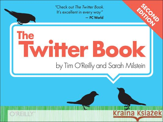 The Twitter Book Tim O'Reilly 9781449314200