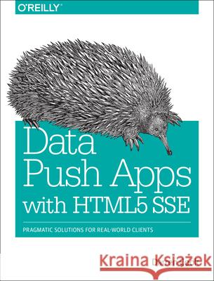 Data Push Apps with Html5 Sse: Pragmatic Solutions for Real-World Clients Cook, Darren 9781449371937