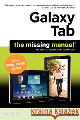 Galaxy Tab Preston Gralla 9781449396855 0