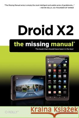 Droid X2 Preston Gralla 9781449396862 O'REILLY