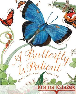 A Butterfly Is Patient Dianna Aston Sylvia Long 9781452141244