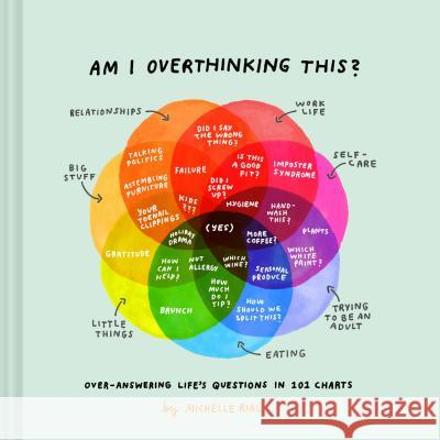Am I Overthinking This?: Over-Answering Life's Questions in 101 Charts Michelle Rial 9781452175867