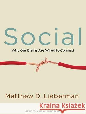 Social: Why Our Brains Are Wired to Connect - audiobook Matthew D. Lieberman Mike Chamberlain 9781452667706